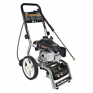 Medium Duty (2000 to 2799 psi) Gas Cart Pressure Washer, Cold Water Type, 2.2 gpm, 2600 psi