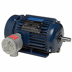 250 HP Hazardous Location Motor,3-Phase,1785 Nameplate RPM,460 Voltage,Frame 447/9T