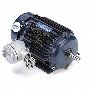 1 HP Hazardous Location Motor,3-Phase,1765 Nameplate RPM,208-230/460 Voltage,Frame 143T
