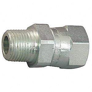 Male NPT to Female JIC Straight Hydraulic Hose Adapter