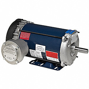 3/4 HP Hazardous Location Motor,3-Phase,1145 Nameplate RPM,208-230/460 Voltage,Frame 143T