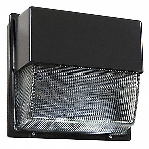 "8"" x 16-1/4"" x 15-3/4"" 104 Watt LED Wall Pack, Dark Bronze"