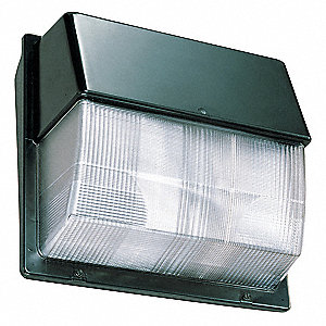 "7-3/4"" x 16-1/8"" x 15-1/2"" 45 Watt LED Wall Pack, Dark Bronze"