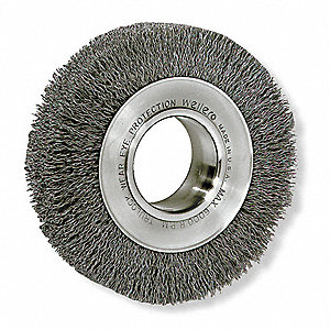 WHEEL BRUSH,6 IN