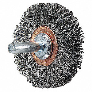WHEEL BRUSH,2 IN DIA
