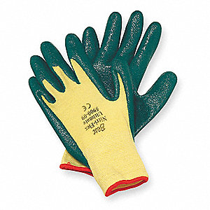 Cut Resistant Gloves,Yellow/Green,XL,PR