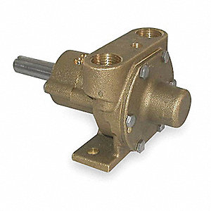 1/3 HP Bronze and Brass Pump Head, Close Coupled Pump, —