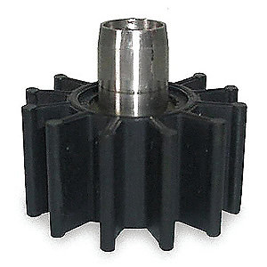 Nitrile Replacement Impeller/Sleeve Assembly for 3ACB9