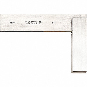 Precision Square,  Stainless Steel,  Number of Pieces —,  5-1/4 x 3 Outside Dimensions (In.)