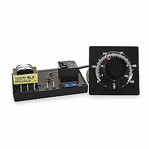 TEMP CONTROLLER,ANALOG,J,32-500F/0-