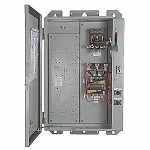 Fused, NEMA Size 2 Pump Panel, 480V, 60 Amps