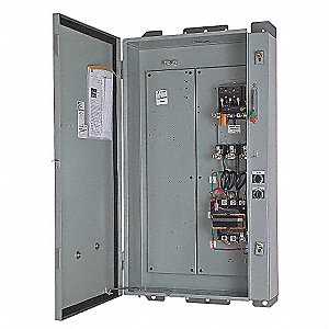 Fused, NEMA Size 1 Pump Panel, 480V, 30 Amps
