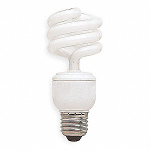 Screw-In CFL,Non-Dimmable,2700K,120V