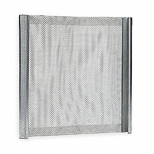 Screen,SS,60 x 60 Mesh,48 1/2x59 3/4 In