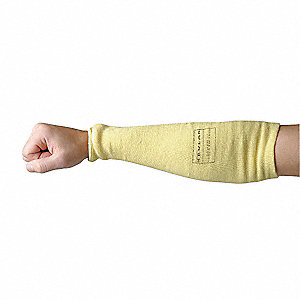 Sleeve,Cut,Kevlar(R)/Cotton,18 In.