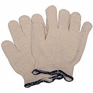 Heat Resistant Gloves, Polyester/Cotton, 250°F Max. Temp., Men's S, PR 1
