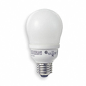 Screw-In CFL,Non-Dimmable,6500K,A17