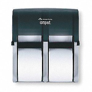 Toilet Paper Dispr,Coreless,13-1/4 In. H