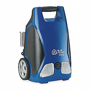 Pressure Washer, 1.3 HP, Cold Water Type, 1750 psi Operating Pressure, 1.5 gpm Flow Rate