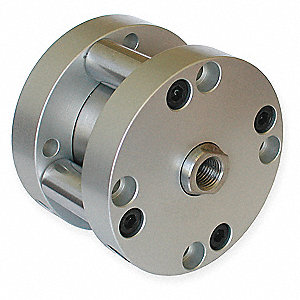 "2"" Air Cylinder Bore Dia. with 1"" Stroke Stainless Steel , Basic Mounted Air Cylinder"