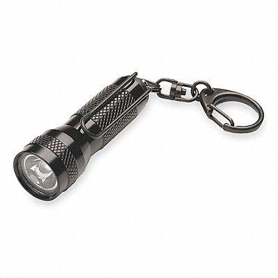3AU18 - Industrial Keychain Flashlight LED Black