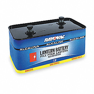 Lantern Battery, Voltage 7.5, Screw Terminal Type