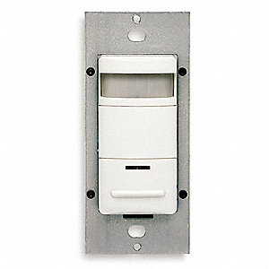 OCC SENSOR,PIR,WALL SWITCH,6A,WHITE