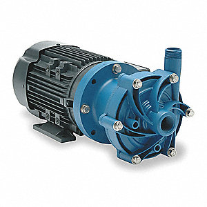 1/3 HP Polypropylene 115/208-230V Magnetic Drive Pump, 33 ft. Max. Head