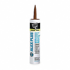 Brown Caulk, Hybrid, 10.1 oz. Cartridge