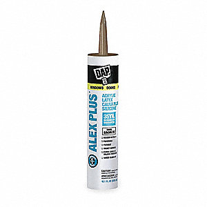 Dark Bronze Caulk, Hybrid, 10.1 oz. Cartridge