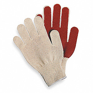 Coated Gloves,3/4 Dip,S,PR