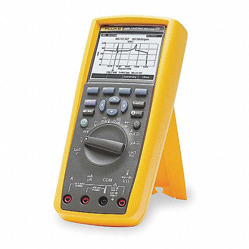 Multímetro Digital, 50,000 Conteos, Precisión ±0.025%, Amperes Máx. CA 10, Voltios Máx. CA 1000