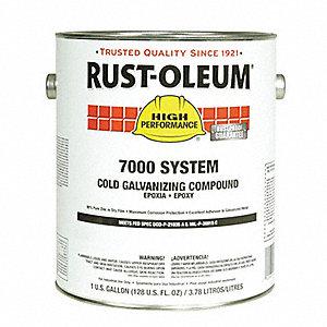 Rust oleum interior exterior cold galvanizing compound - Paint coverage per gallon exterior ...