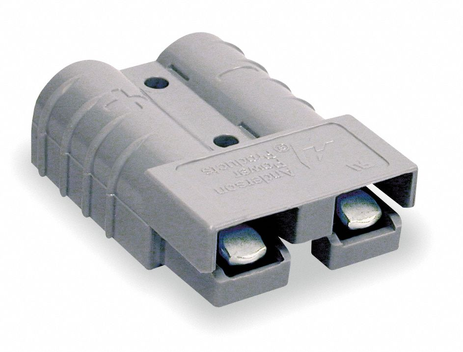 Power Connector,  50 A,  0.221 in,  Gray