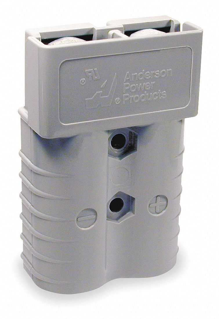 Power Connector,  175 A,  0.437 in,  Gray