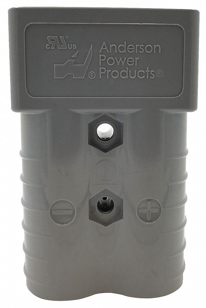 Power Connector,  350 A,  0.484 in,  Gray