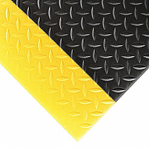 Antifatigue Mat, PVC Sponge, 5 ft. x 3 ft., 1 EA