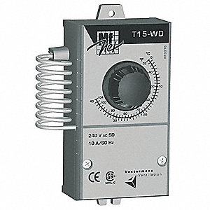 Line Voltage T-stat,32 Deg to 105 Deg F
