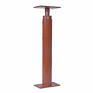 Support Brace with 36 in Max. Service Height (In.) and Red Oxide Finish