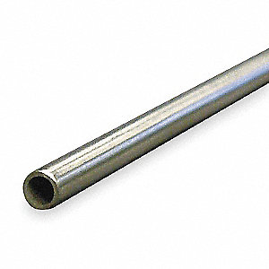 Tubing,Welded,1/4 In,6 ft,316 SS