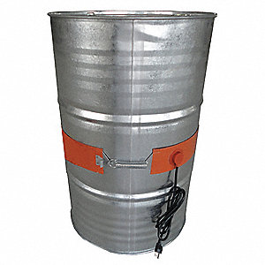 Drum Heater,55Gal,8.7A,115V,L66-3/4""