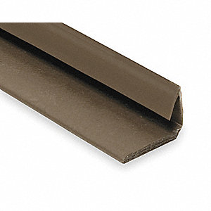 Fire and Smoke Seal,7ft,Brown,TPE Rubber