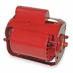 1/3 HP Water Circulator Motor, Split-Phase, 1725 Nameplate RPM, 115/230 Voltage, Frame B&G Frame 6""
