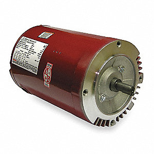 1-1/2 HP Water Circulator Motor, 3-Phase, 1725 Nameplate RPM, 208-230/460 Voltage, Frame NEMA 56