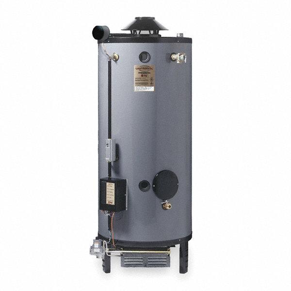 Rheem Ruud Commercial Gas Water Heater 76 0 Gal Tank