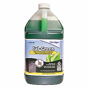 Liquid Condenser Cleaner, 1 gal., Straw Color, 1 EA