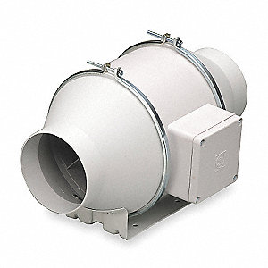 Mixed Flow Duct Fan,5 In. Dia.
