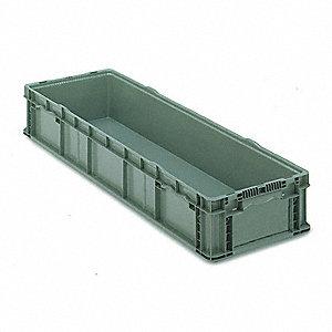 STRAIGHT WALL LONG BOX,H 7 1/2,D 48