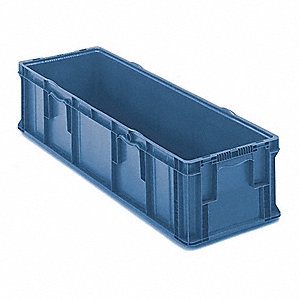 Wall Container,48 In. L,15 In. W,40 lb.