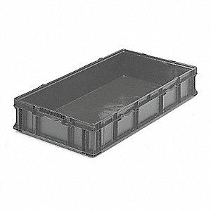 STRAIGHT WALL LONG BOX,H 7 1/4,D 48
